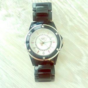 💗 Authentic Juicy Couture Black Ceramic Watch